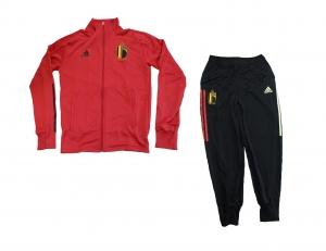 Belgien Nationalmannschaft KBVB Trainingsanzug 2020 Adidas