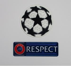 UEFA Champions League Logo Flock Respect Set 2020-21
