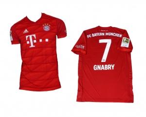FC Bayern München Trikot Home 2019/20 Adidas Serge Gnabry