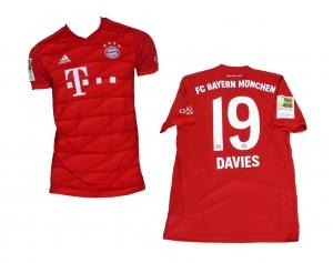 FC Bayern München Trikot Home 2019/20 Adidas Alphonso Davies