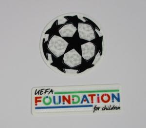 UEFA Champions League Logo Flock Foundation Set 2021-22