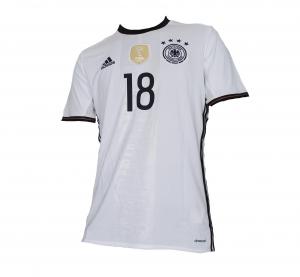 Deutschland DFB Trikot Home 2016 Euro Adidas Toni Kroos 18