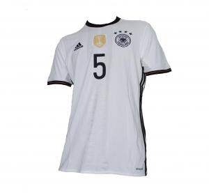 Deutschland DFB Trikot Home 2016 Euro Adidas Mats Hummels 5
