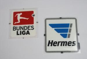 Bundesliga Logo/Hermes Set Flock 2013-14